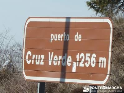 La sierra Oeste de Madrid. Puerto de la Cruz Verde, Robledo de Chavela, ermita de Navahonda. rutas m
